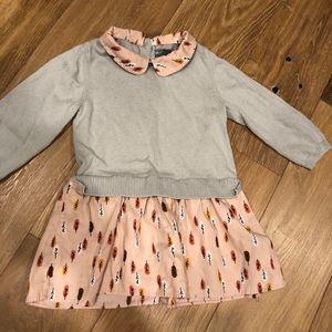 Baby Gap dress with Peter Pan collar
